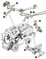 Ремень насоса рулевого управления и битера CNH