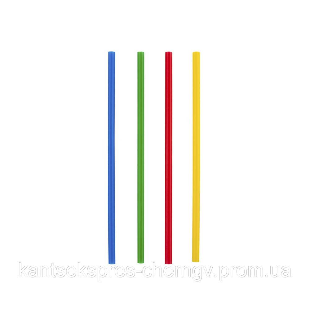 Трубочки Фреш д/напоїв пряма d=8.0мм L=250мм, 500 шт кольорова