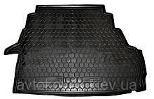 Пластиковый коврик в багажник Geely Emgrand EC8 2013- (AVTO-GUMM)