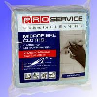 Тряпка микрофибра  PRO-18301700 5 шт д/уборки универсальная P 35*35 см