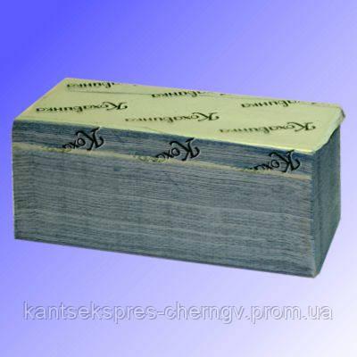 Полотенце V-V скл. 26*25,3 200 шт синее/зеленые