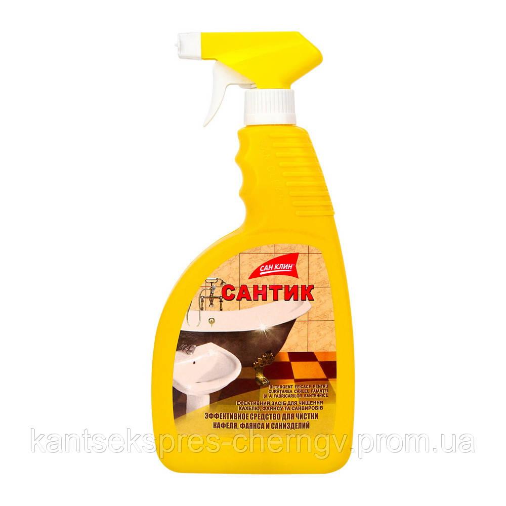 Средство Сантик  для чистки кафеля с распил. 750 мл