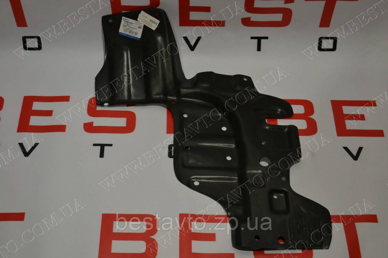 Защита двигателя пластиковая левая geely mk2