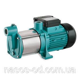 Насос центробежный поверхностный многоступенчатый Leo для воды 0.6кВт Hmax35м Qmax80л/мин (нерж)