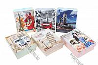 """Коробочки для бижутерии 9x7 (набор 12 шт.) """"LP"""" купить оптом подарочную коробку"""