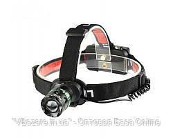 Светодиодный аккумуляторный налобный фонарь Police BL-T07-T6