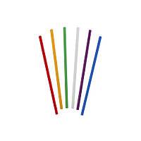 Трубочки д/напитков прямая d = 4.8мм L = 125мм, 200 шт цветная