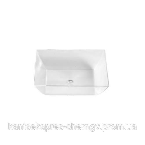 Пиала квадратная прозрачная, 15*58*58, 50 шт, PapStar