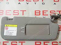 Козырeк солнцезащитный правый серый geely ec7