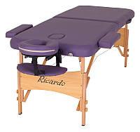 Массажный стол Ricardo PARMA Фиолетовый