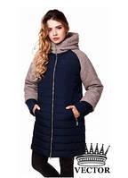 Зимня женская куртка пальто, фото 1