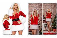 Маскарадный новогодний костюм Санта