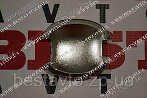 Накладка ручки дверей хром (к-кт 4шт) geely ec7