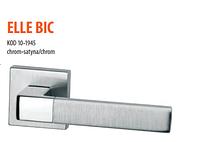 Дверная ручка VDS Elle big  хром-сатин/хром