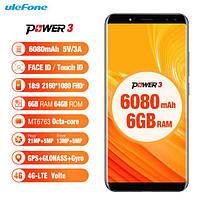 Ulefone Power 3 с батареей 6080mAh и экраном 18:9