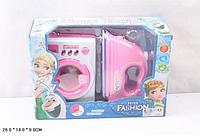"""Игрушечная бытовая техника Бытовая техника """"Frozen"""" утюг, стиральная машина, свет, звук.Игрушки для девочек."""