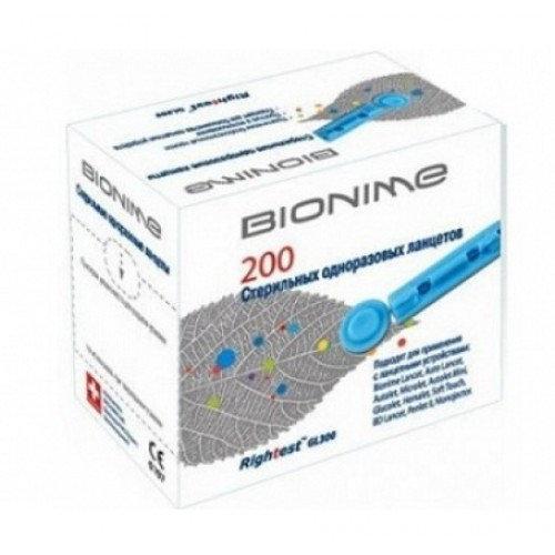 Ланцети BIONIME (200 шт)