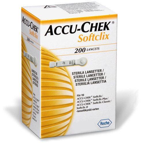 Ланцети Акку-Чек Софтклікс (Accu-Chek Softclix) 200 шт