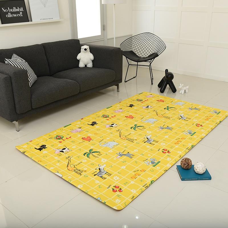 Игровой коврик Alzipmat Zoo 210 х 140 х 1,2 см