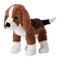 """ИКЕА """"ГОСИГ ВАЛЬП"""" Мягкая игрушка, собака, бигль, фото 1"""