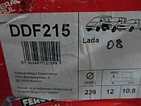 Диск тормозной ваз 2108 FERODO
