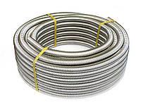 Металорукав гофрированный из нержавеющей стали DISPIPE 25GF-C (W), для кабельканала с протяжкой