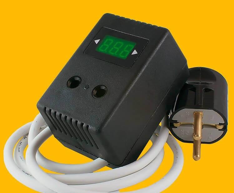 Автомат защиты Барьер-3П со шнуром (регулируемый 1,5 кВт)
