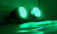 Прожектор Led par 54x3 RGBW с мультицветными диодами 3в1