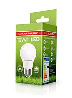 Лампа светодиодная EUROELECTRIC LED 10w 4000K E27 A60 10274 (EE) классическая