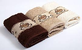 Набор махровых полотенец Vevien Coffee 30*50 (3шт)