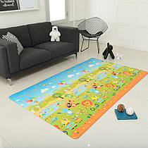 Игровой коврик Alzipmat Funimal 240 х 140 х 1,2 см