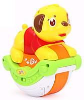 Игрушка Huile Toys Музыкальная собачка (3105A)