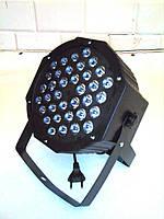 Заливочный свет LED PAR 36x1. dmx RGB (концертная подсветка)