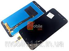 Модуль для Asus ZenFone 3 ZE520KL, Z017D, Z012D Дисплей + тачскрин, черный оригинал PRC