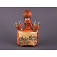 Набор для алкогольных напитков Бутылка + 2 стопки