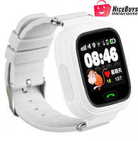 Детские Умные GPS Часы Smart Baby Watch Q90 (Q100) white 60e5a514c3505
