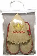 Набор для сауны женский Королева в упаковке