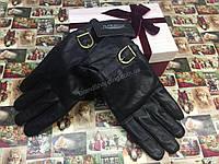 Кожаные мужские перчатки в подарочной упаковке 1642