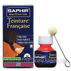 Краситель для гладкой кожи Saphir Teinture Francaise 50 мл цвет бесцветный (02)