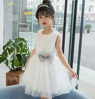 Нарядное платье для девочки 100-120