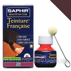 Краситель для гладкой кожи Saphir Teinture Francaise 50 мл цвет коричневый (04)