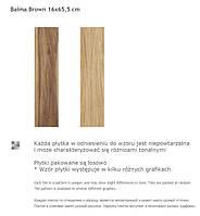 Paradyz Baima Brown 16x65.6
