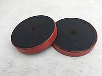 Блины для штанги и гантелей 5 кг (с красной каймой)