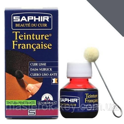 Краситель для гладкой кожи Saphir Teinture Francaise 50 мл цвет база (00)