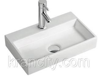 Умывальник/раковина прямоугольный VOLLE  13-01-11,380x240x70mm