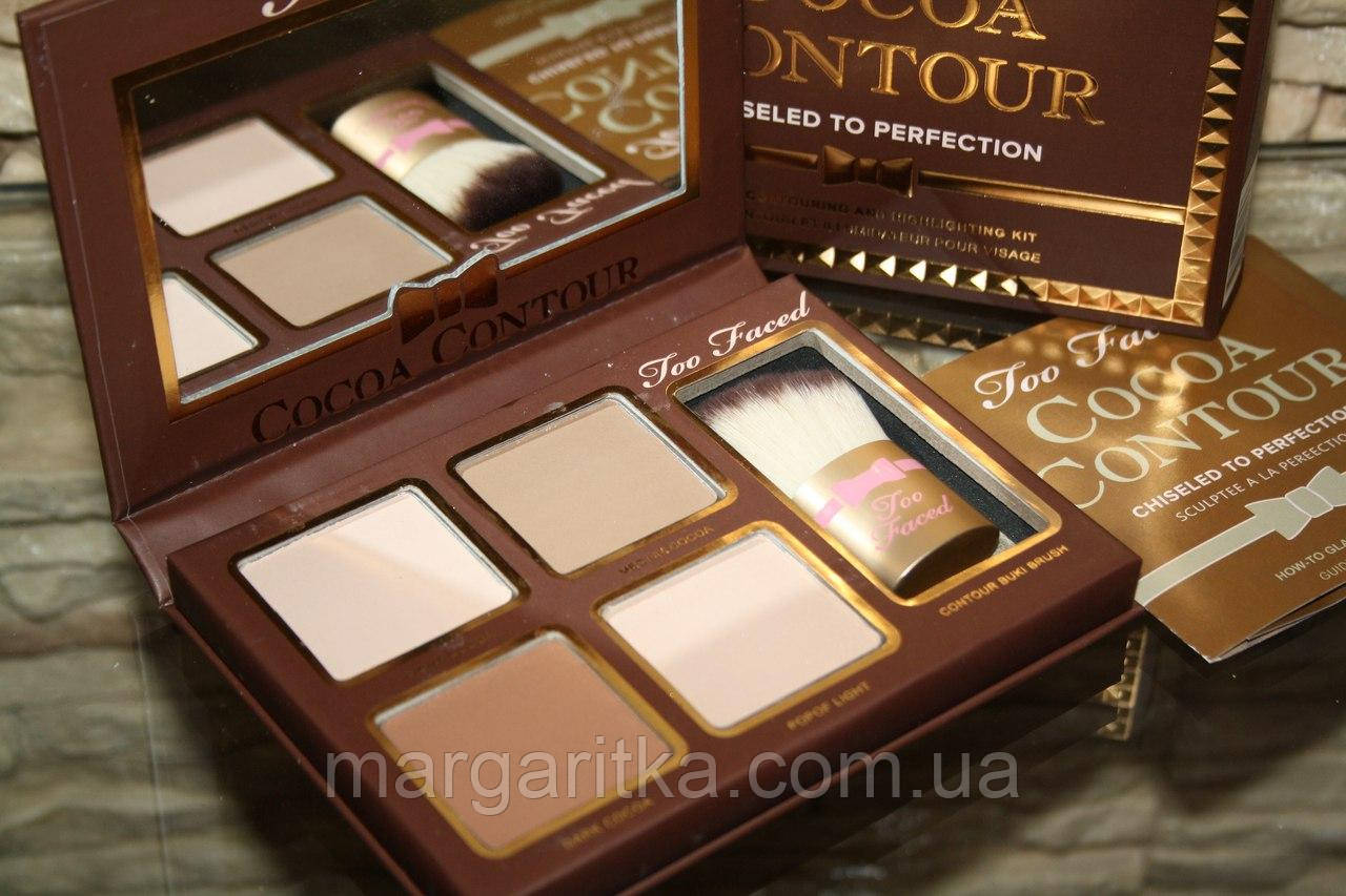 Too Faced Cocoa Contour Chiseled to Perfection. Набор для контурирования лица  (Копия)