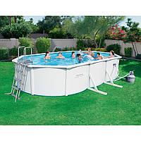 Сборный бассейн Bestway Hydrium 56369 (610х360х120) с песочным фильтром