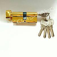Сердцевина (цилиндр) для замка VENTA 70 мм ZN 35х35 PB S