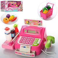 Кассовый аппарат 35563B сканер, свет, калькулятор, продукты, тележка
