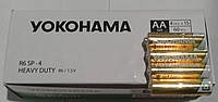 Батарейка солевая Yokohama упаковка 60шт. R6 UM4 AA 1.5V